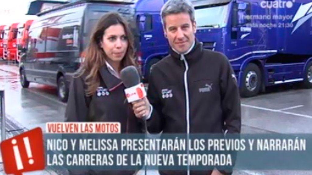 Vuelven las motos a Mediaset