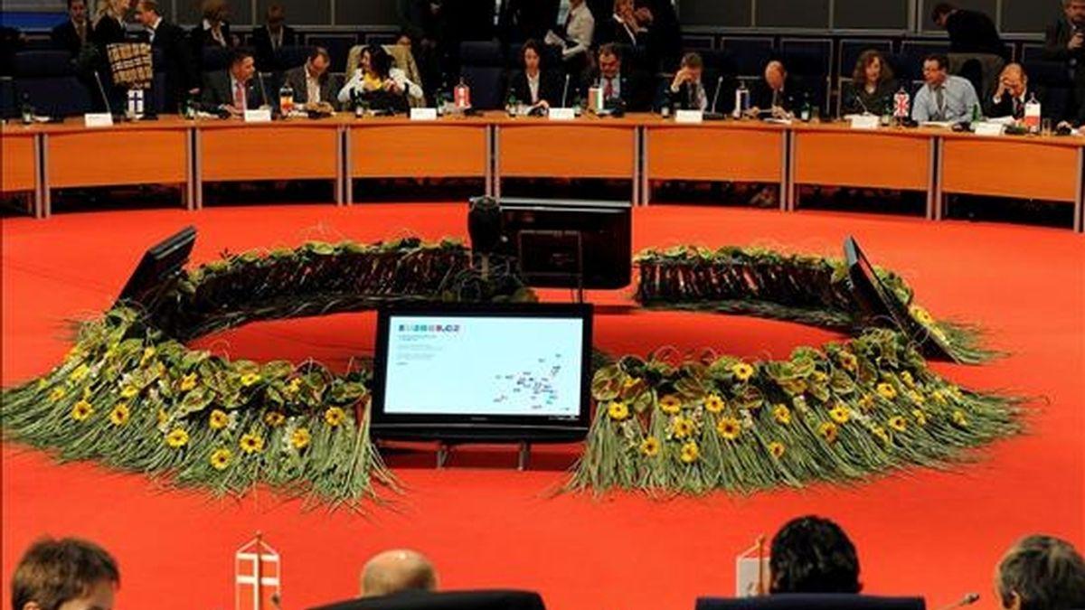 Vista de la reunión informal de los ministros de Agricultura y Pesca de la Unión Europea hoy en Brno (República Checa). EFE