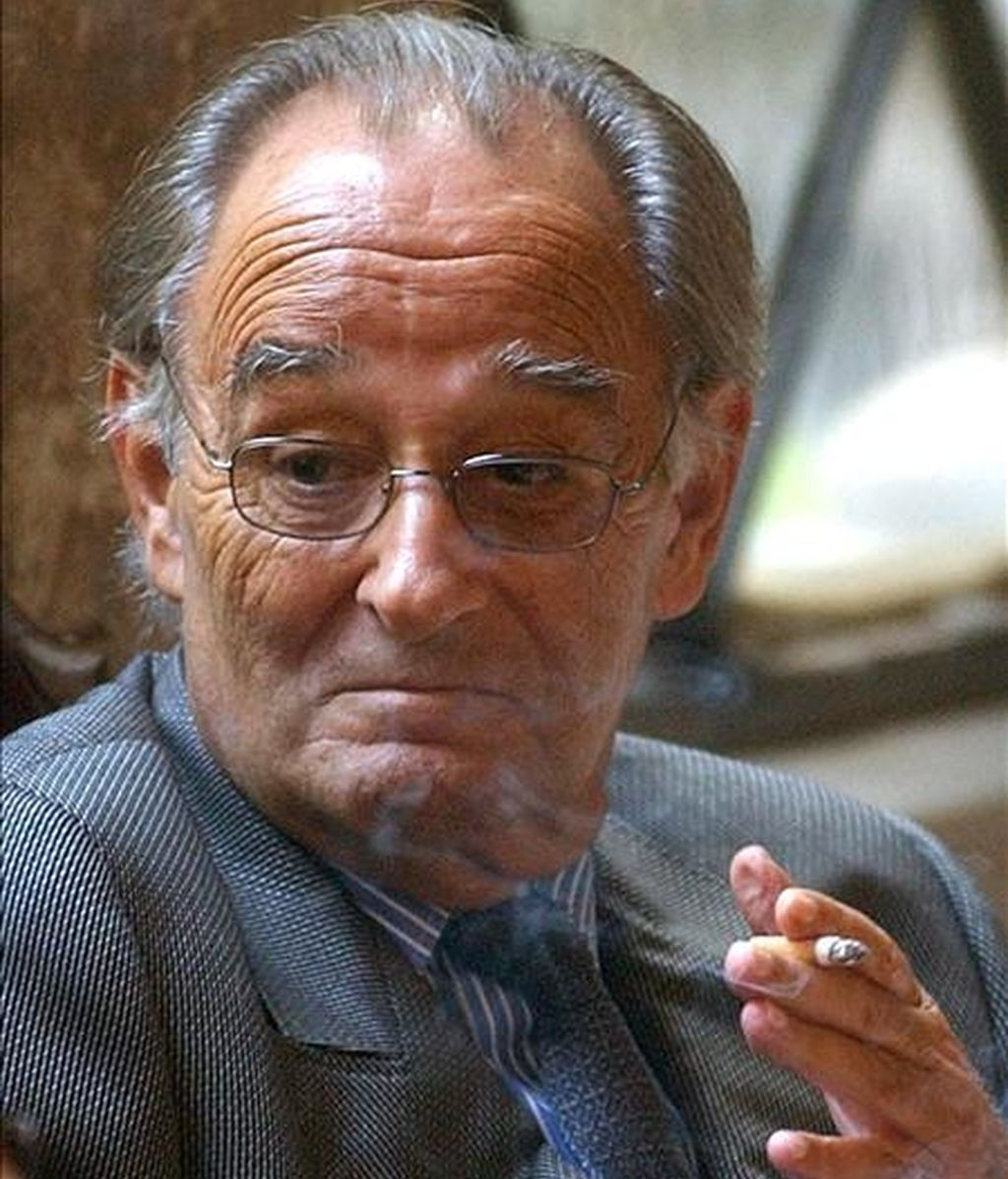 El ex juez Lluis Pascual Estevill, condenado a 9 años de prisión por delitos de cohecho y prevaricación y a quien se le ha revocado el régimen abierto que le otorgara la Generalitat. EFE/Archivo