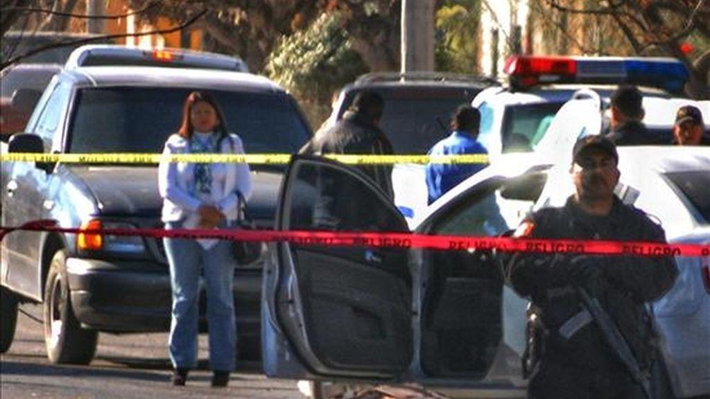 Al menos 18 cadáveres fueron hallados hoy en 11 fosas clandestinas de una finca del poblado mexicano Palomas, colindante con el pueblo estadounidense Columbus (Nuevo México). EFE/Archivo