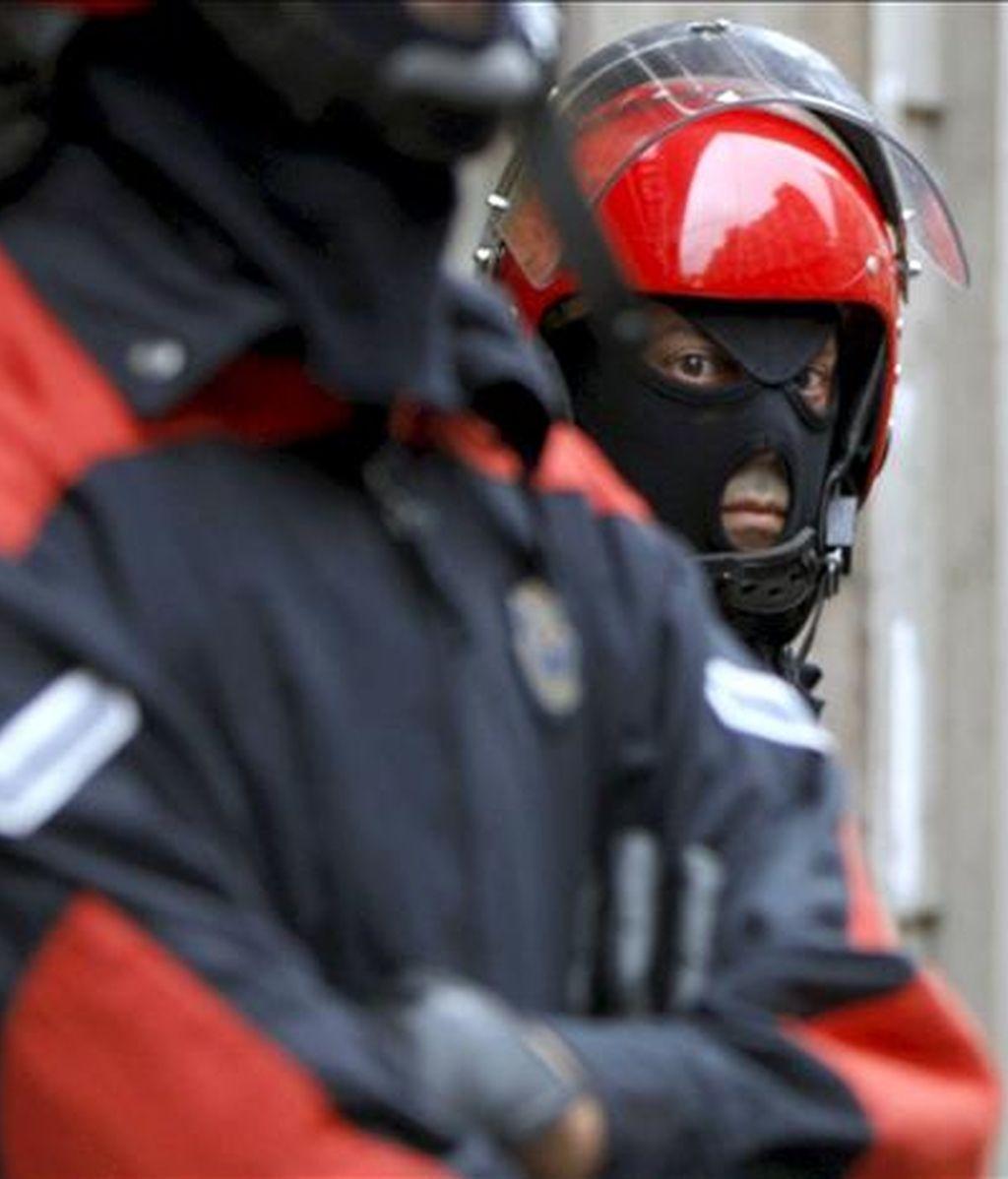 Agentes de la Ertzaintza. EFE/Archivo