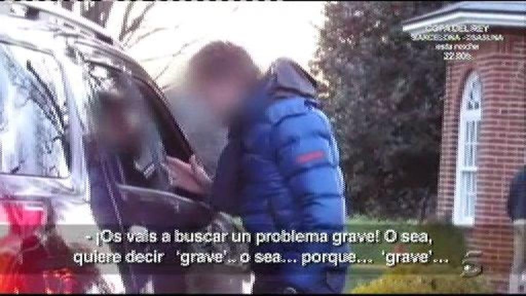 Los guardaespaldas de Urdangarín se enfrentan a la prensa en Washington