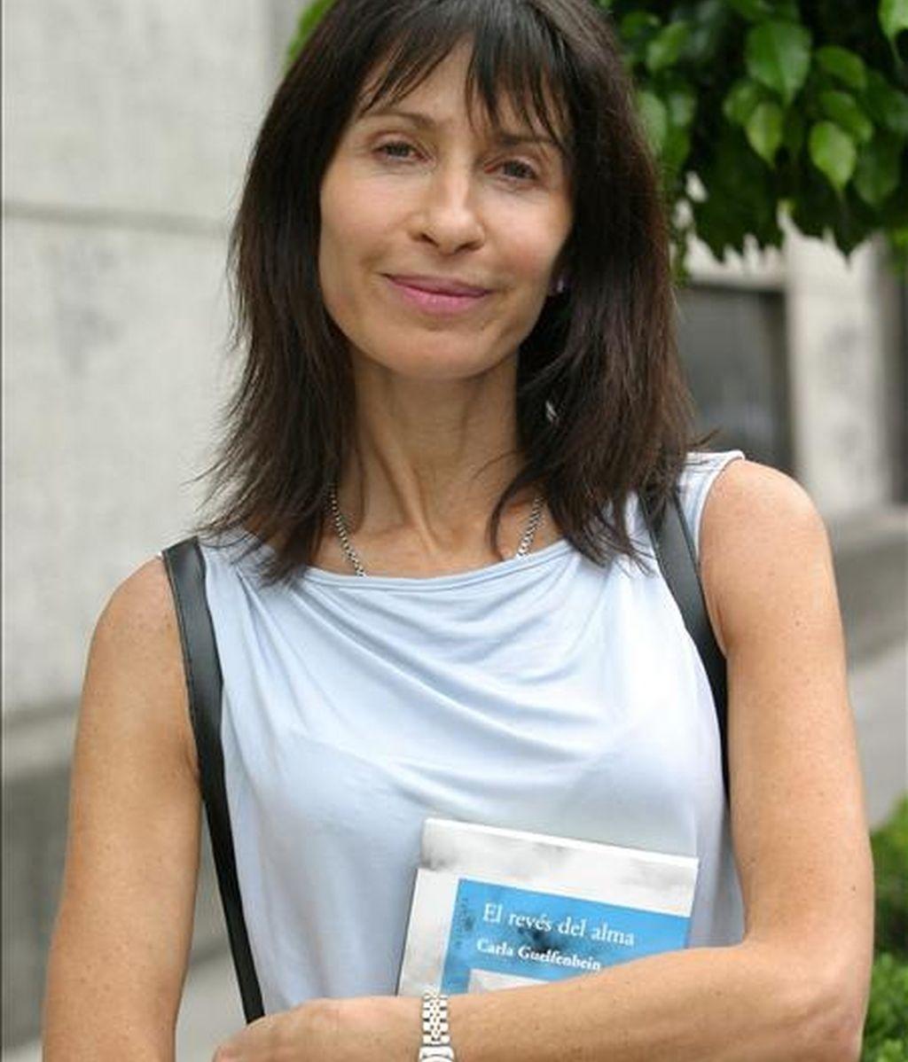 La escritora chilena Carla Guelfenbein. EFE/Archivo