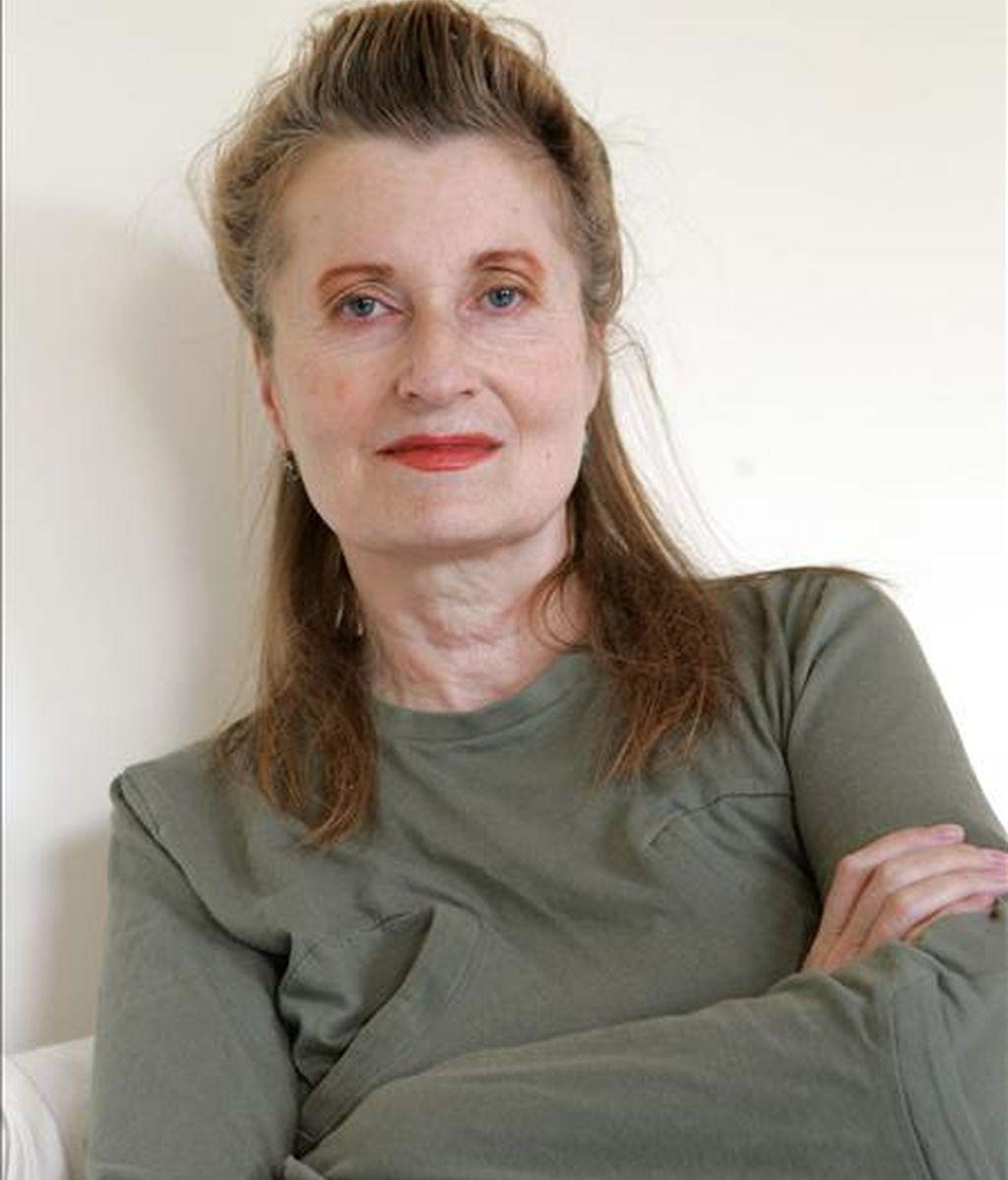 La escritora austríaca Elfriede Jelinek, Premio Nobel de Literatura, ha sido elegida como autora dramática del año en Alemania. EFE/Archivo