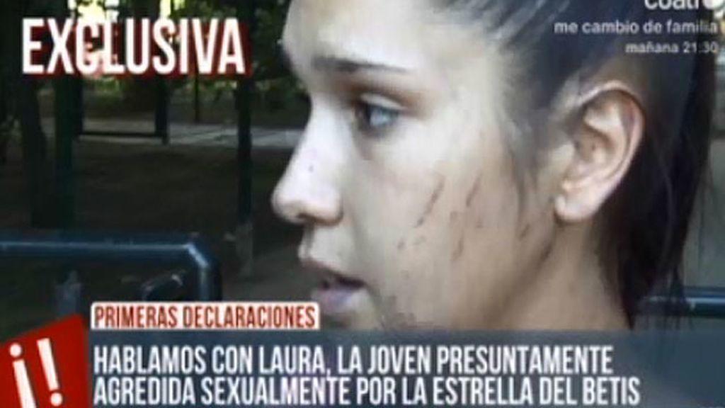 Hablamos con la joven supuestamente agredida por Rubén Castro