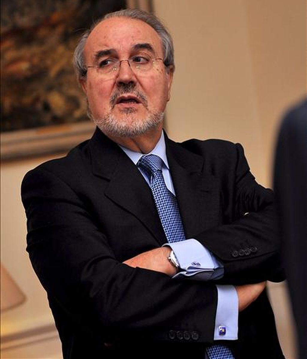 El ministro de Economía y vicepresidente segundo español, Pedro Solbes. EFE/Archivo