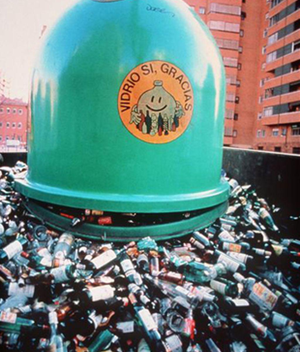Madrid produce toneladas de basuras. Foto: Archivo.
