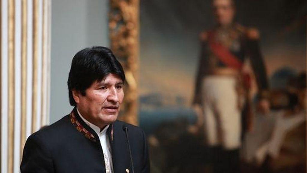 En la imagen el presidente boliviano, Evo Morales. EFE/Archivo