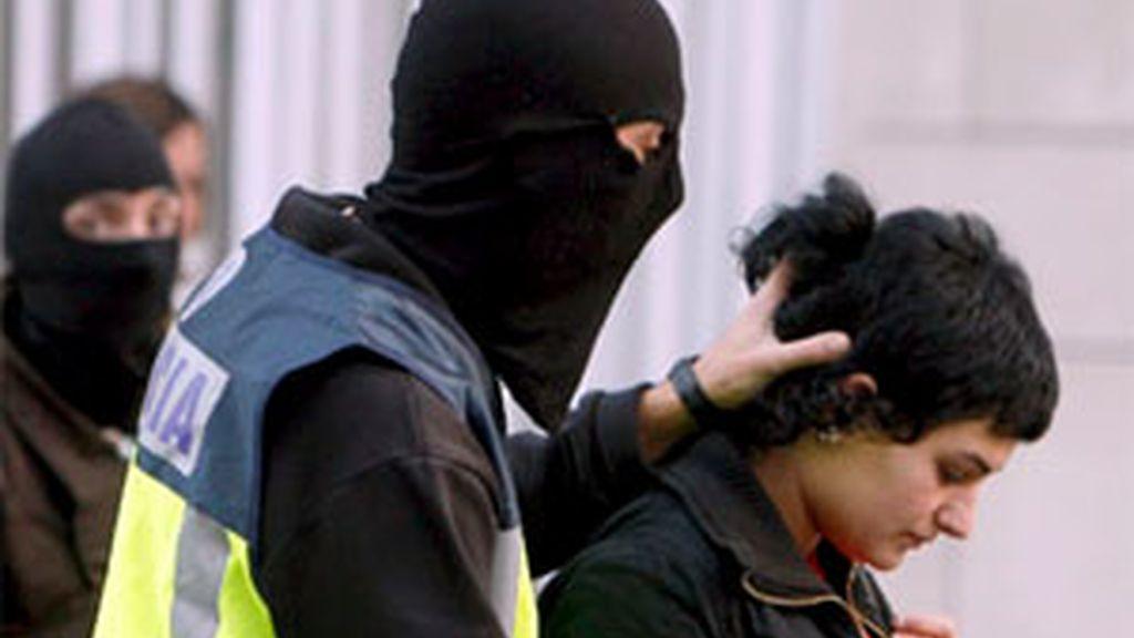 El pasado 24 de noviembre fueron detenidos 34 miembros de Segi. Foto: EFE
