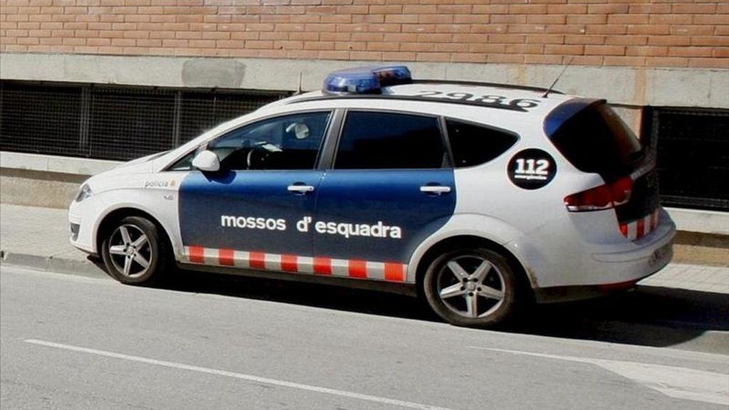 """Vehículo de los Mossos d'Esquadra"""". EFE/Archivo"""