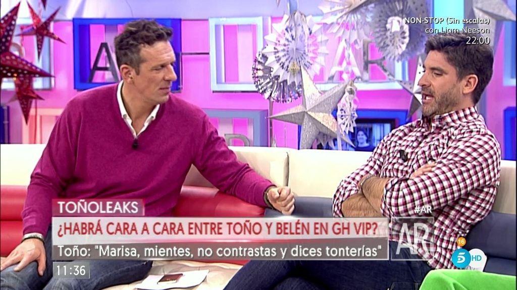 """Toño Sanchís: """"No he tenido ningún problema con mi mujer"""""""