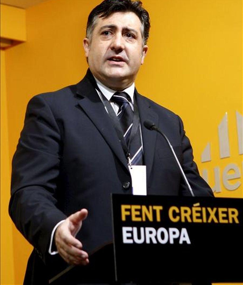 El presidente de ERC, Joan Puigcercós. EFE/Archivo