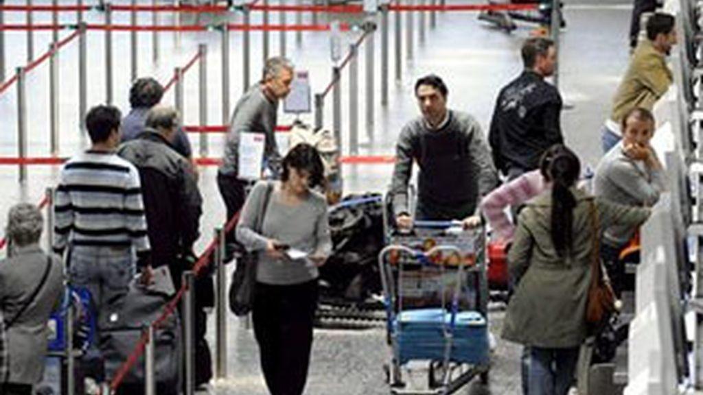 La crisis aérea eclipsa a la ocurrida en el 11-S. Foto: EFE