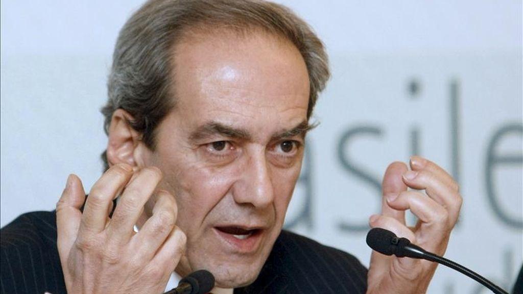 El miembro del Comité Ejecutivo del Banco Central Europeo (BCE) José Manuel González Páramo. EFE/Archivo