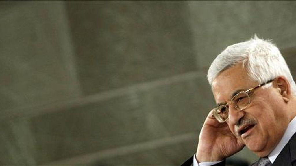 El líder palestino, Mahmud Abás. EFE/Archivo