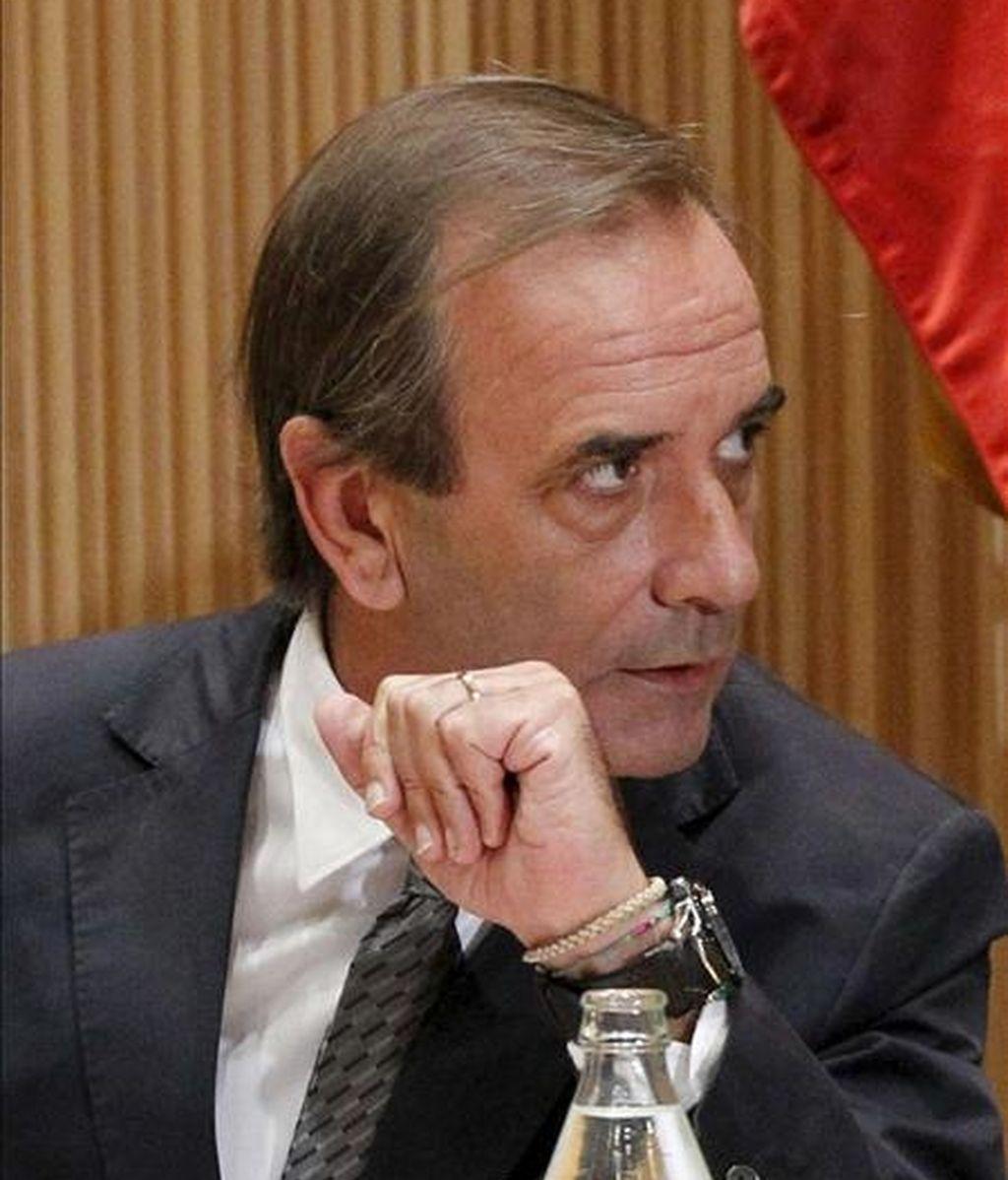 En la imagen, el portavoz del grupo socialista, José Antonio Alonso. EFE/Archivo
