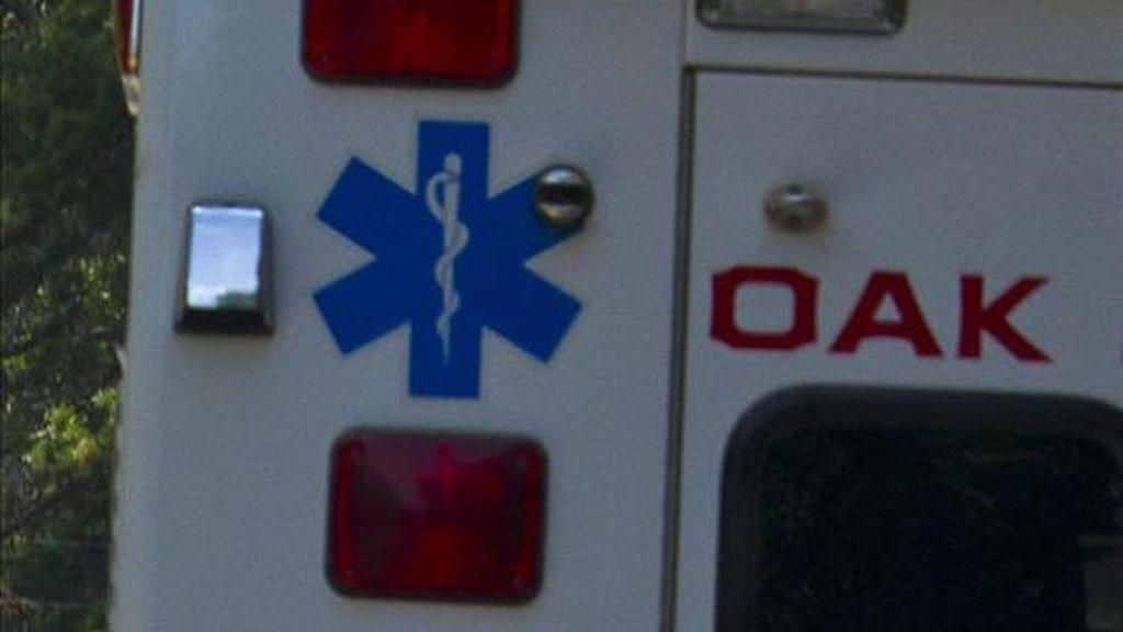 En la imagen, una ambulancia. EFE/Archivo