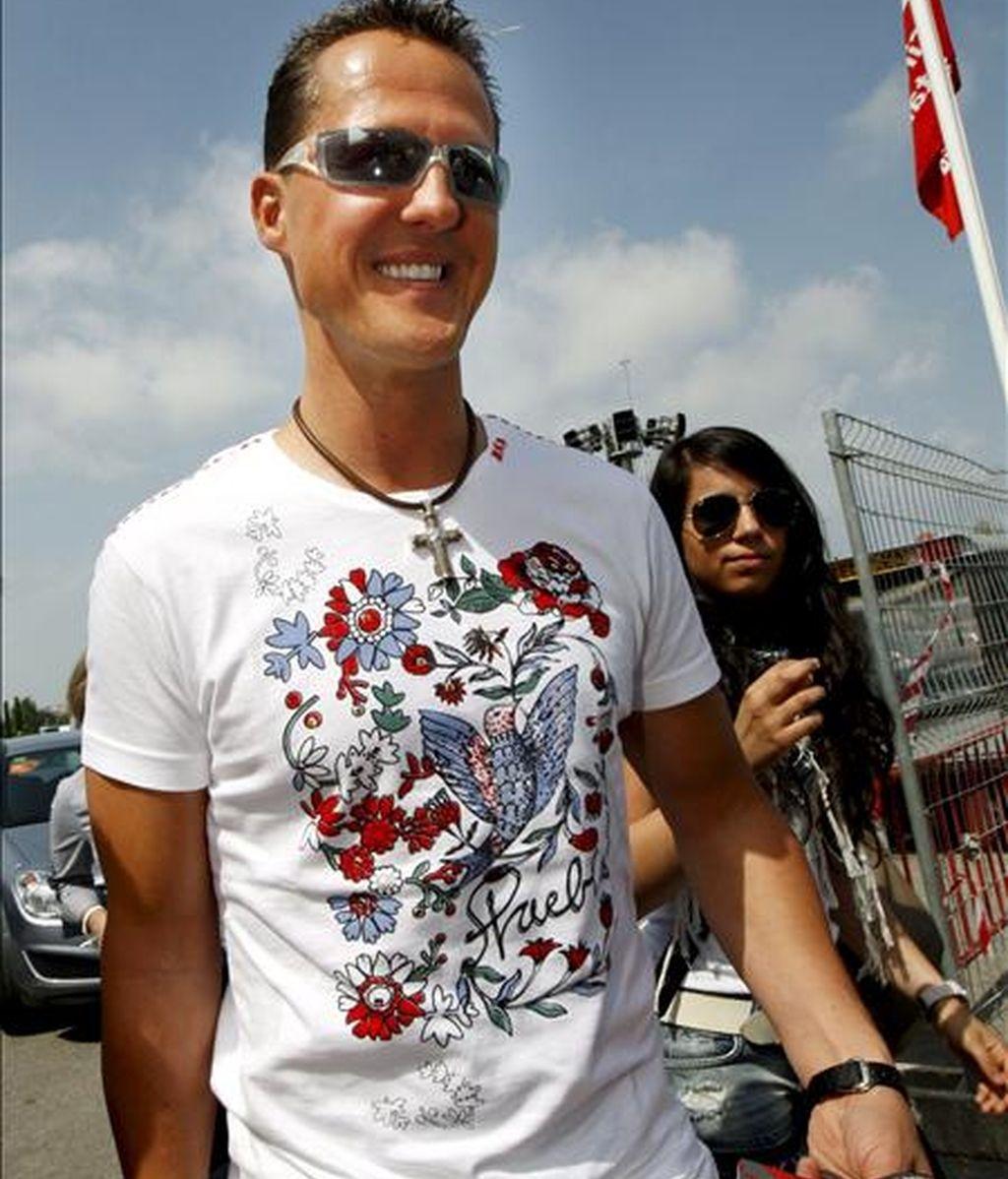 El ex piloto de Fórmula Uno alemán Michael Schumacher. EFE/Archivo