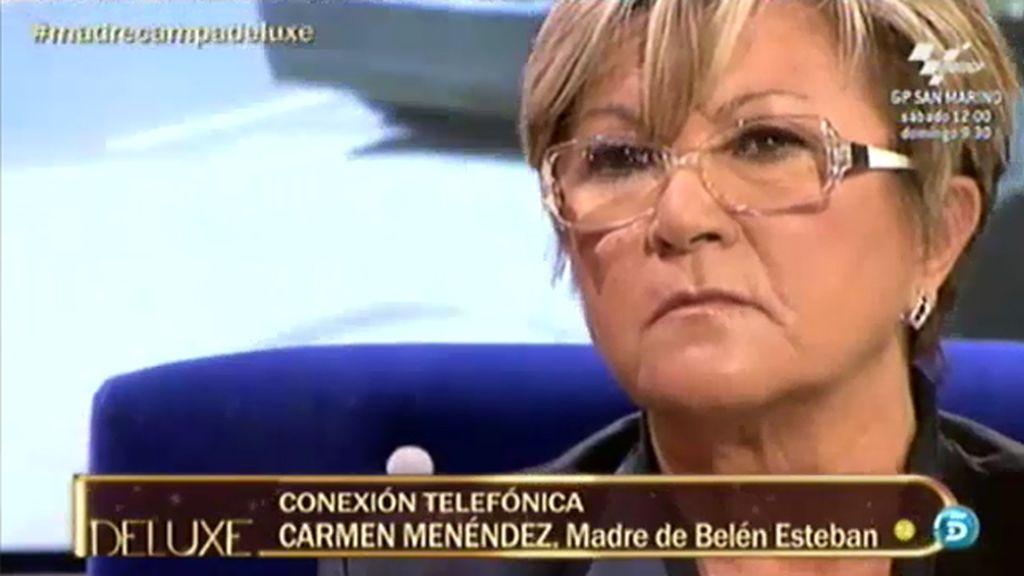 """La madre de Belén Esteban, a la de Campanario: """"Esta señora viene a por dinero"""""""