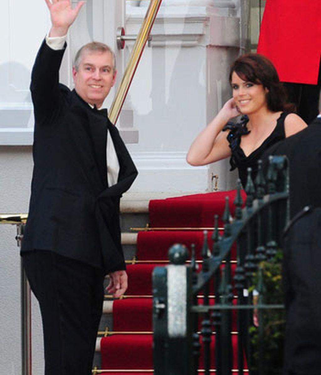 El príncipe Andrés y Eugenia
