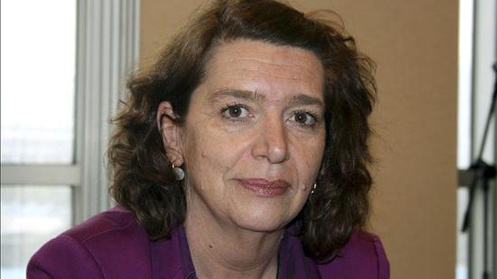La la directora general del Tesoro español, Soledad Núñez. EFE/Archivo