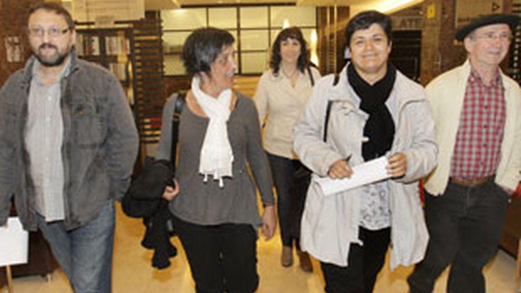 Bildu presenta un recurso ante el Tribunal Constitucional por la prohibición del Supremo. Foto: EFE.