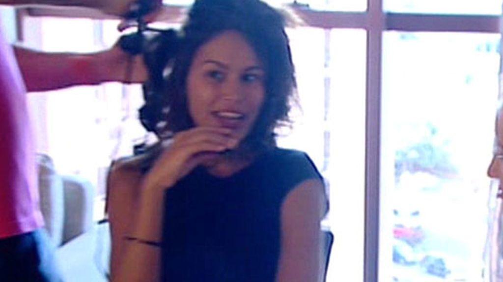 Mireia Canalda, portada de 'Interviú'