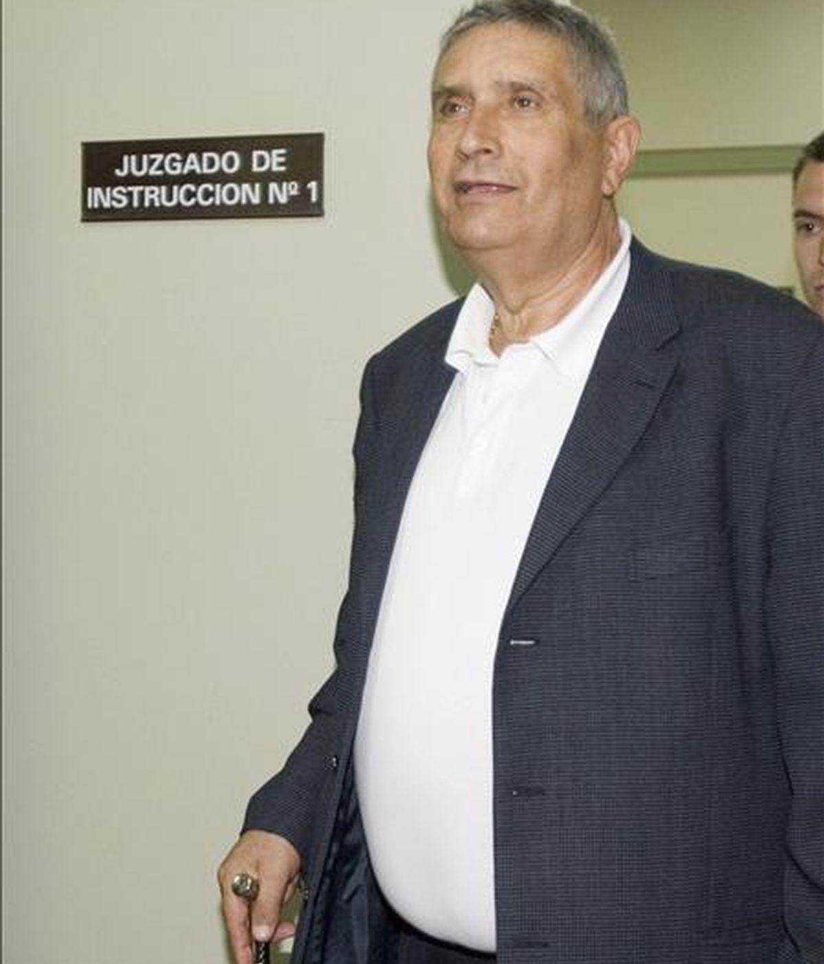 El ex alcalde de Santa Brígida Carmelo Vega. EFE/Archivo