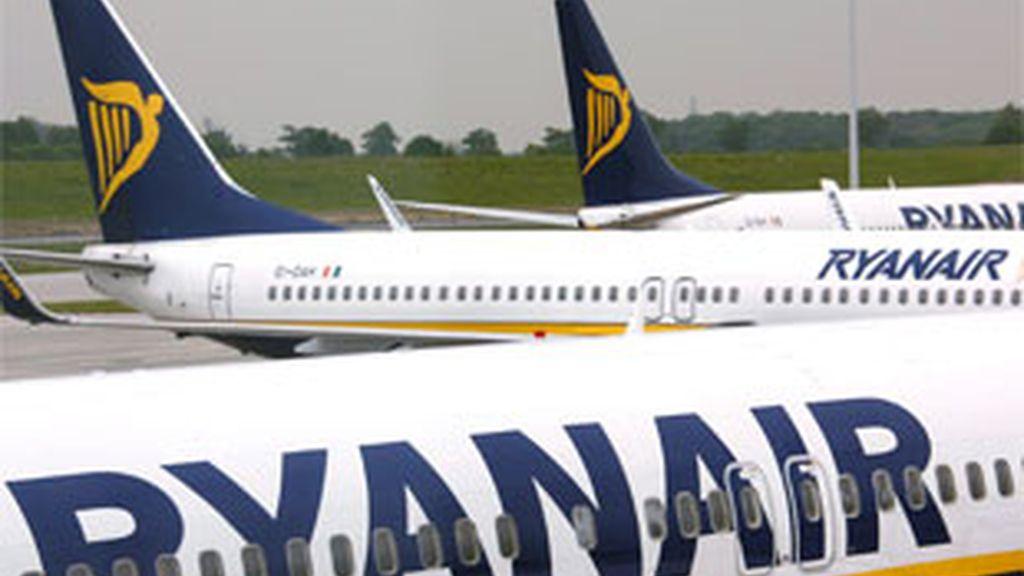 Ryanair amenaza al Gobierno si no retira las multas impuestas. Foto: EFE.
