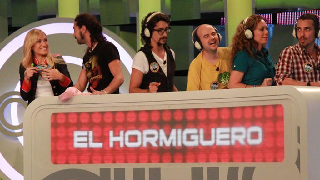 Juan, Marron, Jandro, Raquel y Damián