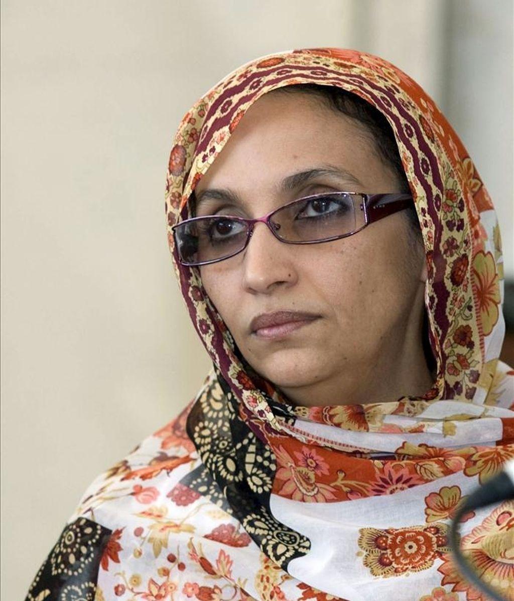 La activista saharaui Aminatu Haidar. EFE/Archivo