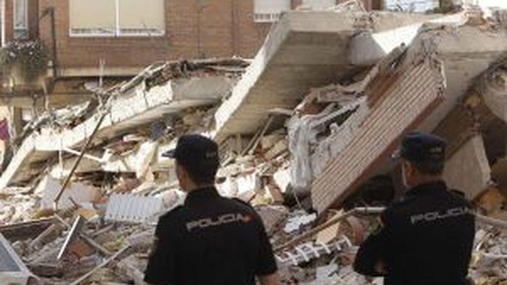 Edificios destrozados. Foto: EFE.