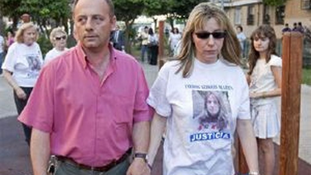 Los padres de Marta del Castillo. Foto: EFE
