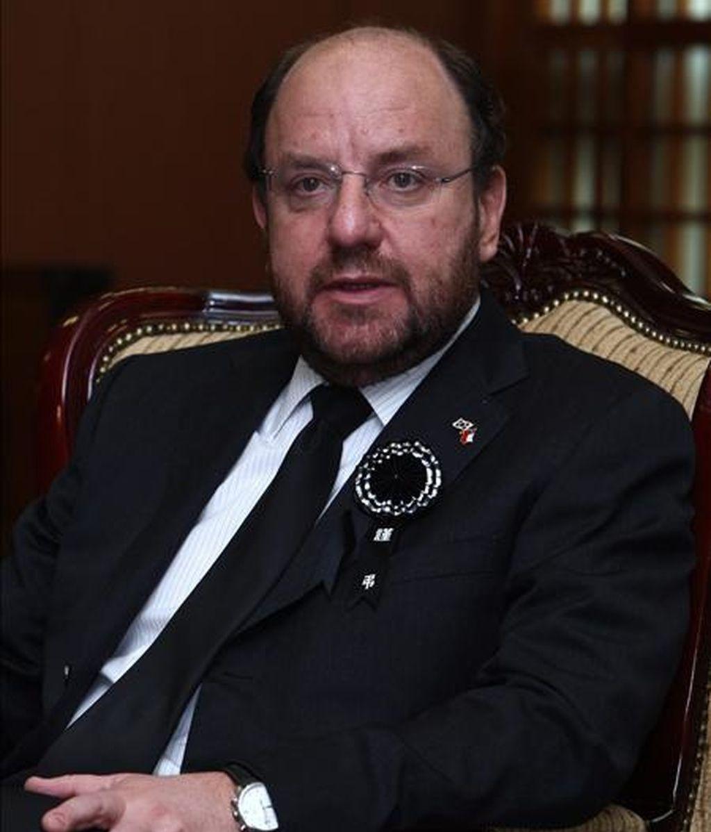 """El ministro de Relaciones Exteriores, Alfredo Moreno, afirmó """"que Chile está dispuesto a colaborar en estas situaciones"""", pese a que aún no ha recibido ninguna petición al respecto. EFE/Archivo"""