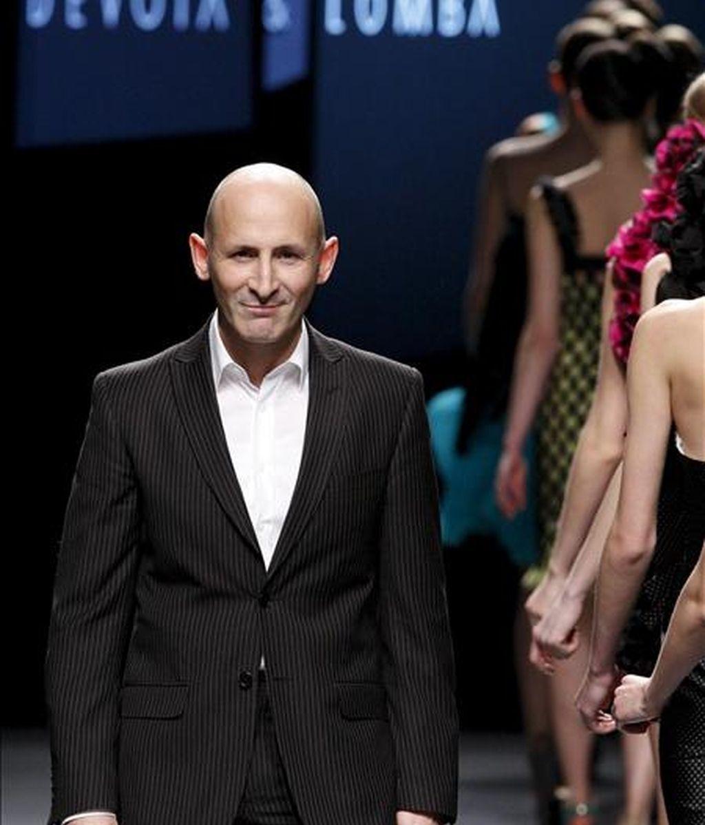 El diseñador Modesto Lomba, presidente de la Asociación de Creadores de Moda de España (ACME). EFE/Archivo