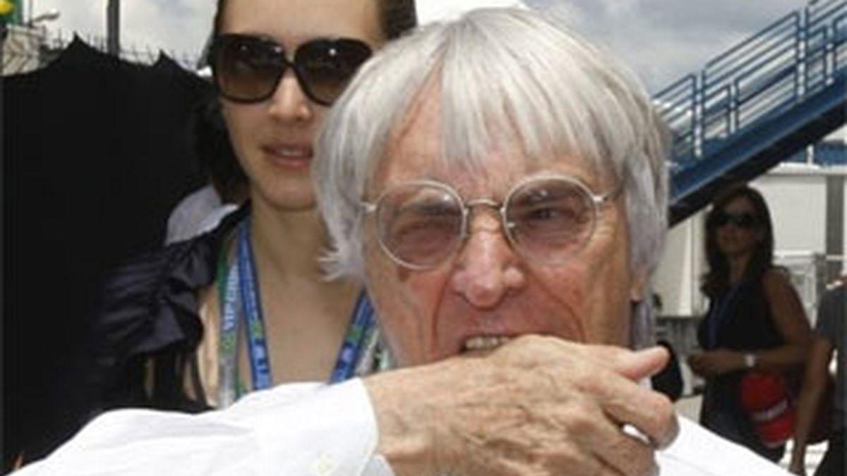 Ecclestone siente que Donington Park no pueda acoger el GP. Foto: Archivo
