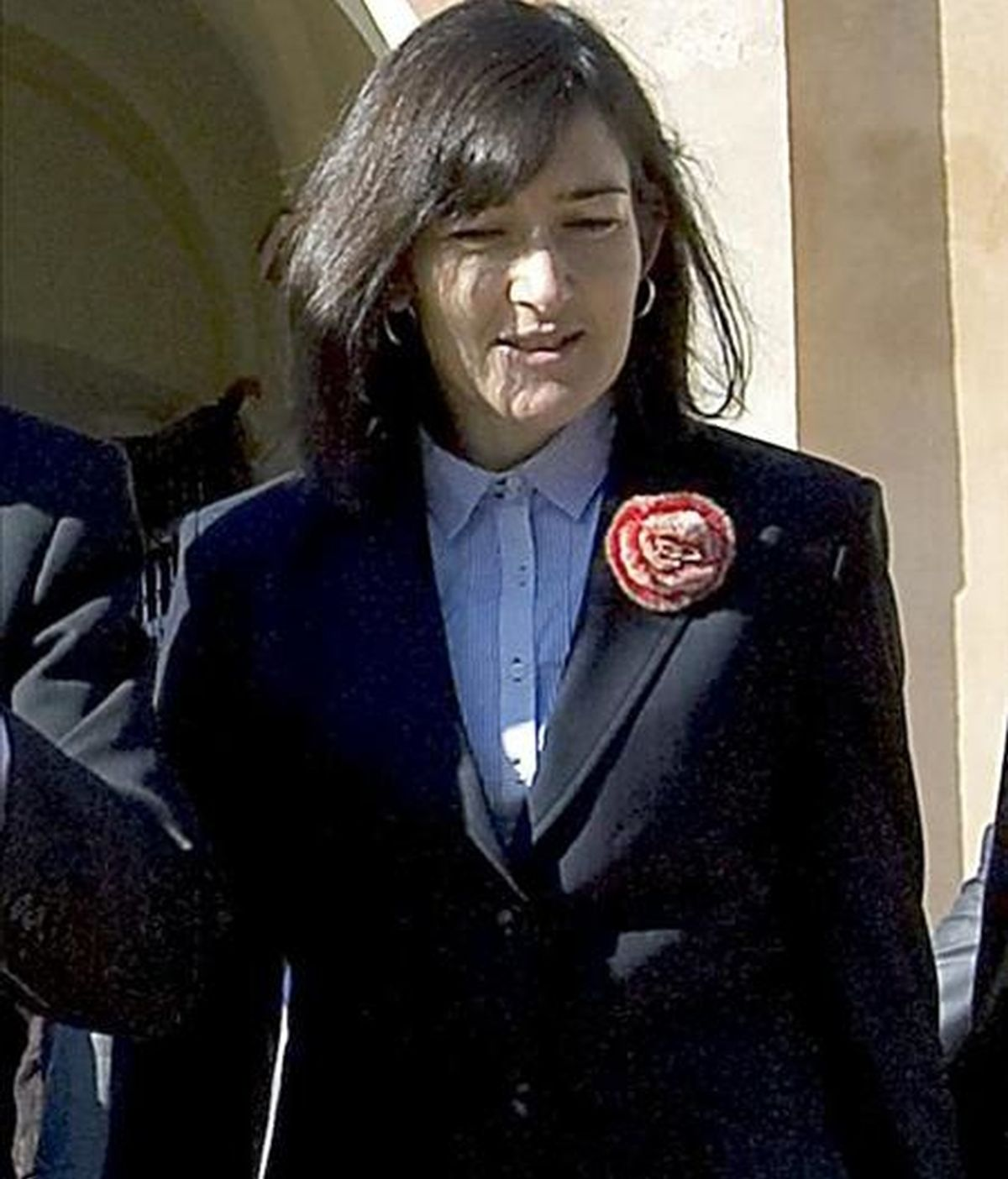 En la foto, la ministra de Cultura, Ángeles González-Sinde. EFE/Archivo