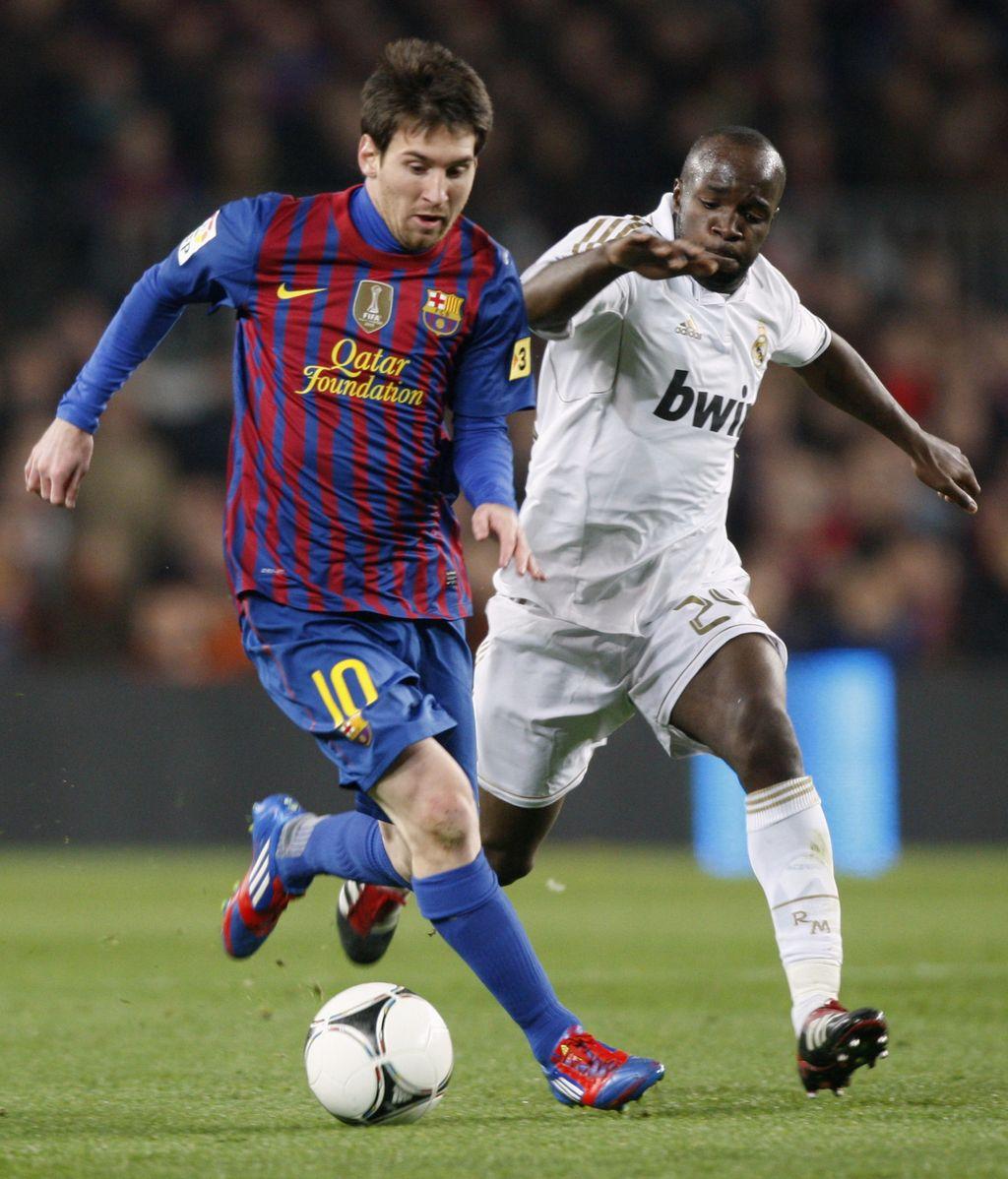 Messi y Diarra