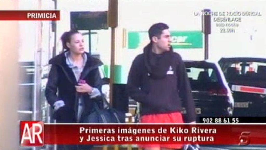 Las primeras imágenes de Kiko Rivera y Jessica Bueno tras su ruptura