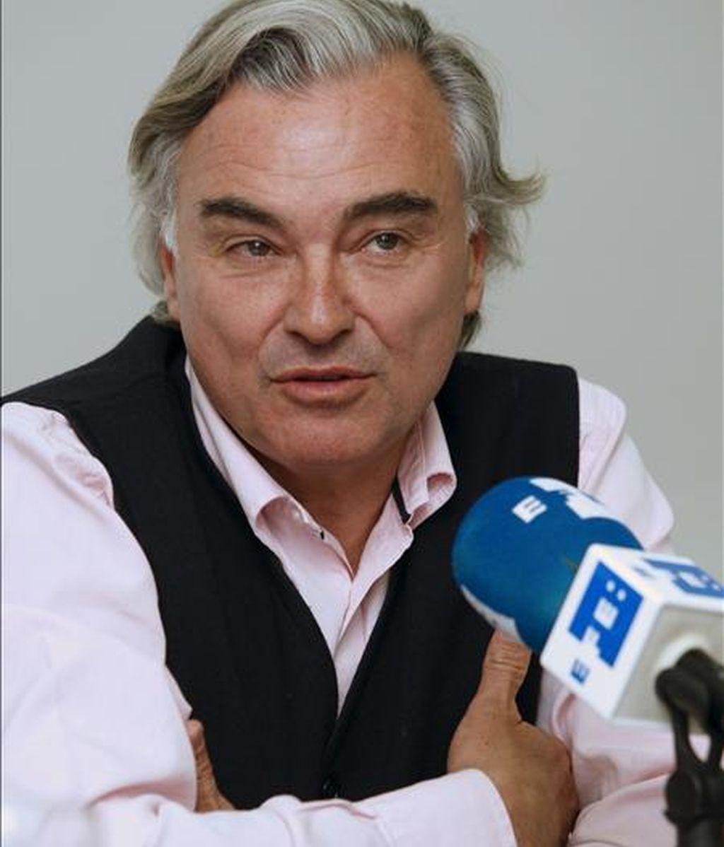 El productor y cineasta y  presidente de la Academia, Eduardo Campoy quien presidió el jurado del I Concurso de Cortos de la Academia de Cine y RNE. EFE/Archivo