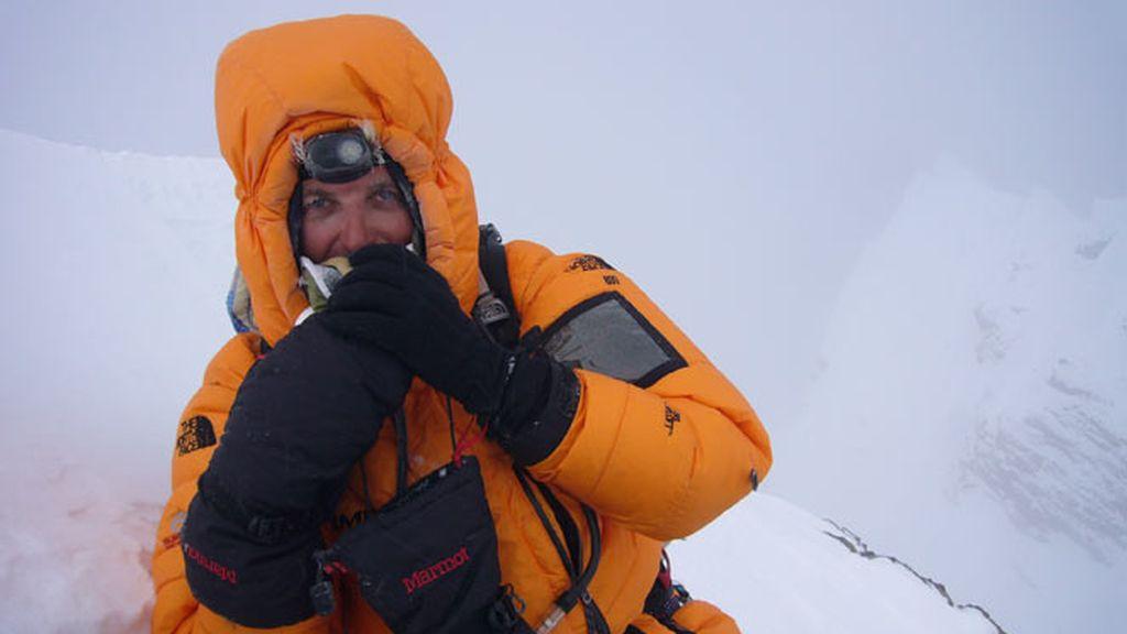 Jesús Calleja en la cuarta cima más alta del mundo: Lhotse