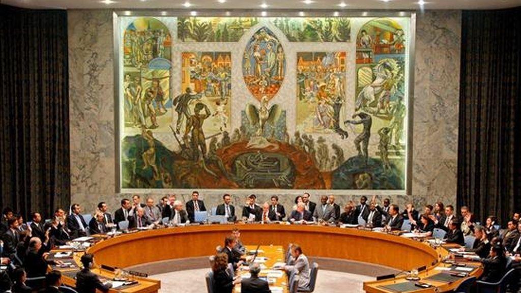 La medida adoptada por el comité contra Al Qaeda y los talibanes del Consejo de Seguridad se enmarca en los esfuerzos de su presidente, el embajador austríaco Thomas Mayr-Harting, de actualizar la lista de sancionados, que hasta ahora contenía 137 nombres. EFE/Archivo