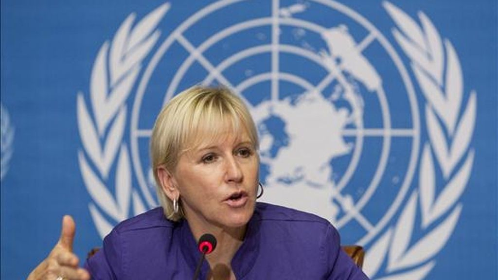 """""""Esta es una buena noticia para el pueblo de la República Democrática del Congo y una victoria para la justicia"""", aseguró la representante especial de la ONU para la violencia sexual en los conflictos, Margot Wallstrom. EFE/Archivo"""