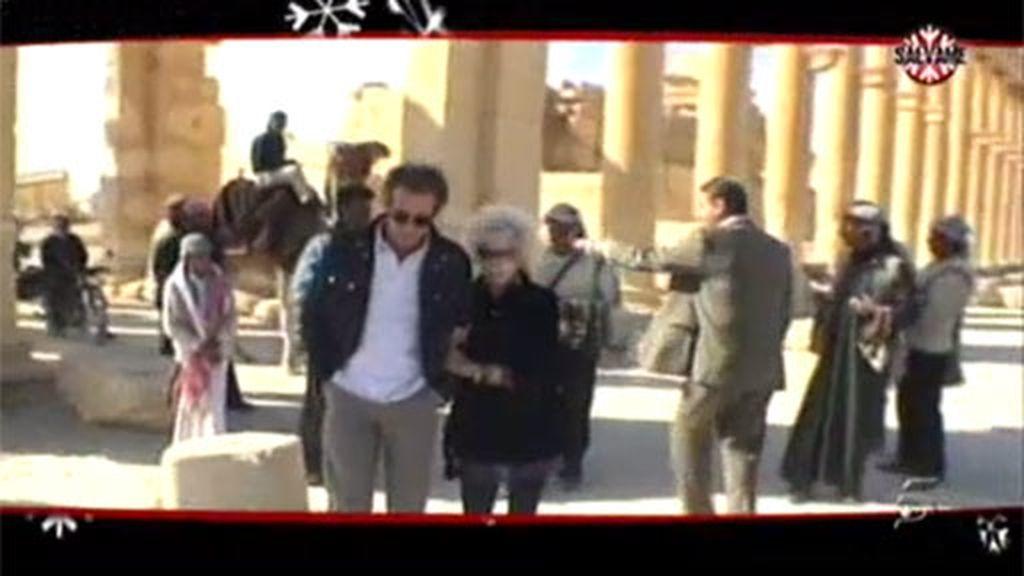 La duquesa en Jordania