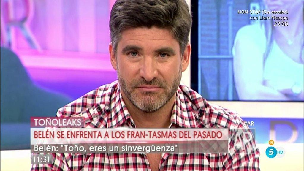 """El consejo de Toño Sanchís a Belén Esteban: """"Vete a boxes y recíclate"""""""