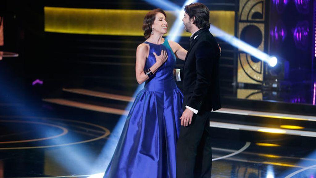 El actor Eduardo Noriega y la cantante Ana Belén