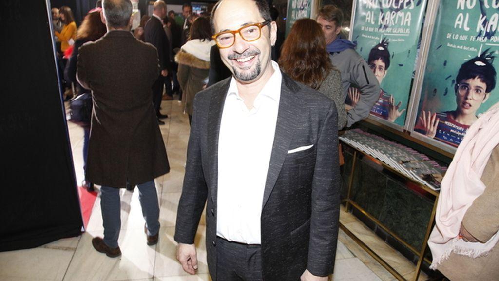 Jordi Sánchez interpretar al peculiar padre de Verónica Echegui en la película