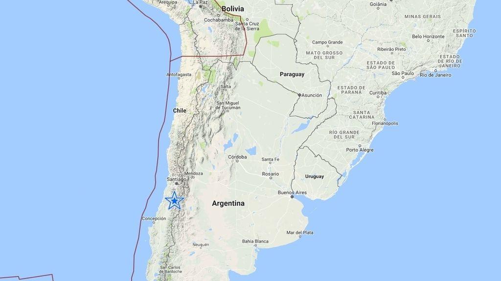 Un terremoto de 6,1 sacude Chile y se deja sentir en Santiago