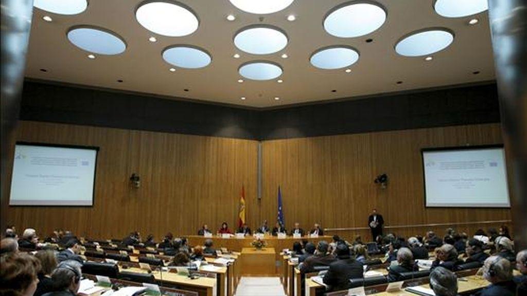 El acto de apertura de la tercera sesión plenaria de la Asamblea Parlamentaria Euro-Latinoamericana (EuroLat). EFE