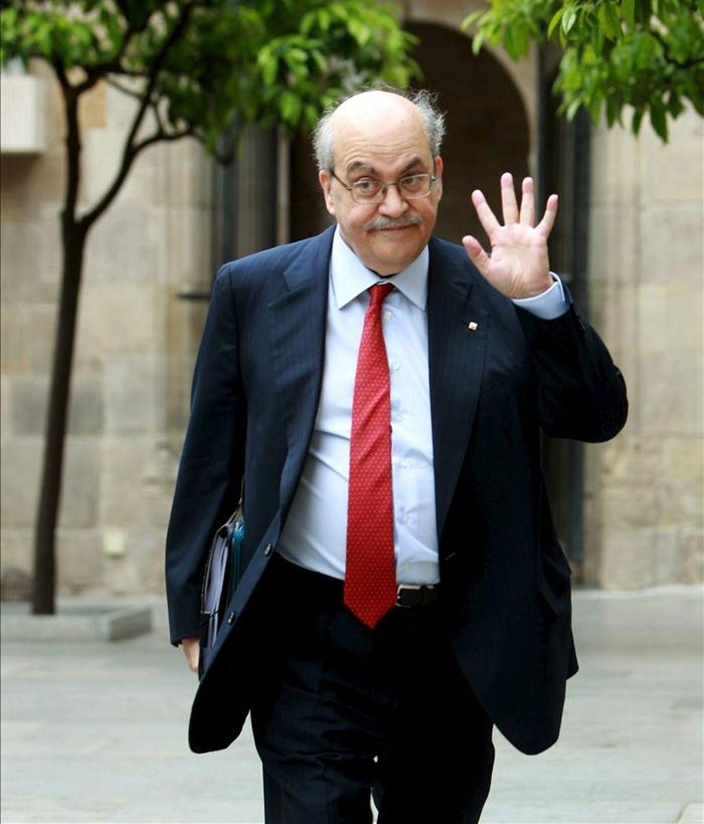 El conseller de Hacienda, Andreu Mas-Colell. EFE/Archivo